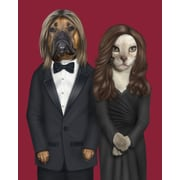 Empire Art Direct Pets Rock  ''Hollywood'' Graphic Art on Wrapped Canvas