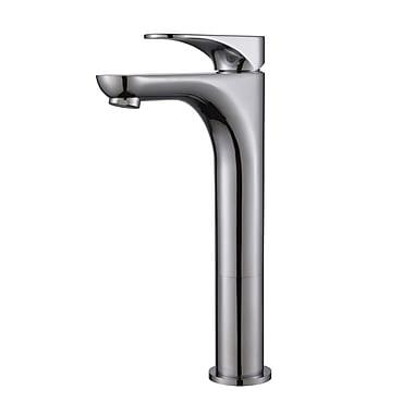 Kraus Aquila Single Hole Single Handle Bathroom Faucet; Chrome