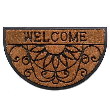 Wildon Home Welcome Scroll Doormat