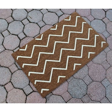 A1 Home Collections LLC Rosway Chevron Doormat