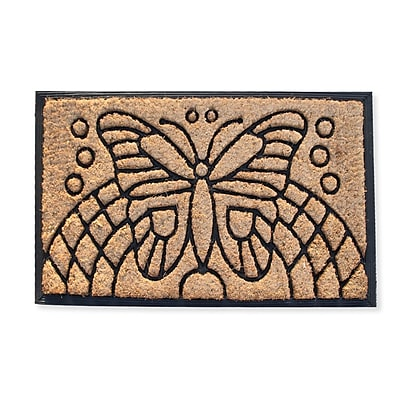 A1 Home Collections LLC Auden Butterfly Doormat