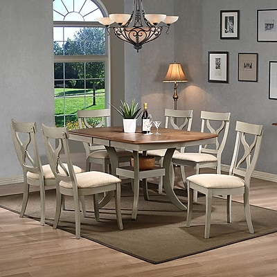 Wholesale Interiors Baxton Studio Balmoral 7 Piece Dining Set