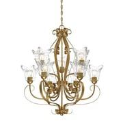 Millennium Lighting Chatsworth 9-Light Shaded Chandelier