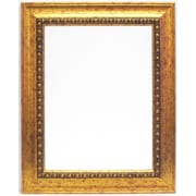 Alpine Art and Mirror Beveled Glass Gold Framed Wall Mirror