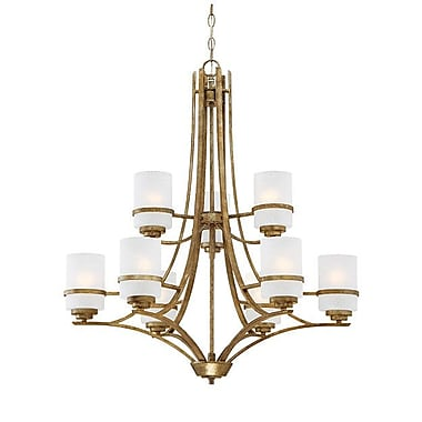 Millennium Lighting Benton 9-Light Shaded Chandelier