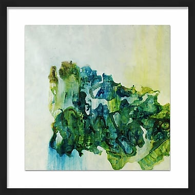 PTM Images 'Seaglass Shell' Framed Painting Print