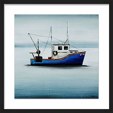 PTM Images 'Ships Ahoy II' Framed Painting Print
