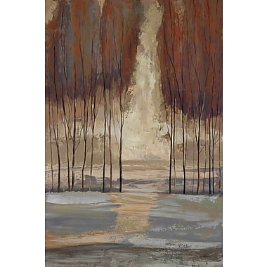 Marmont Hill 'Wild Wood I' by Julie Joy Painting Print on Wrapped Canvas; 18'' H x 12'' W