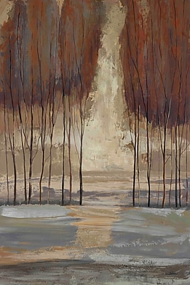 Marmont Hill 'Wild Wood I' by Julie Joy Painting Print on Wrapped Canvas; 24'' H x 16'' W