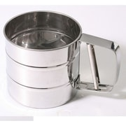Culinary Edge 3 Cup Stainless Steel Flour Sifter
