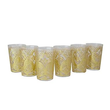 Casablanca Market Luxury EI Kef Tea Glass (Set of 6)