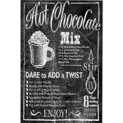Portfolio Canvas Chalk Hot Chocolate by IHD Studio Textual Art on Wrapped Canvas