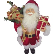 National Tree Co. Standing Santa Christmas Decoration