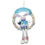 PennDistributing Welcome Bunny Wreath