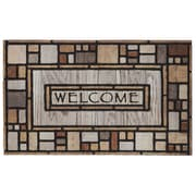 """Mohawk Home Drifted Nature Doormat 1'6""""x2'6"""" Multi-Colored (086093422813)"""