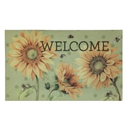 """Mohawk Home Sunny Bees Doormat 1'6""""x2'6"""" Multi-Colored (086093471477)"""