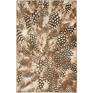 Bob Timberlake Salem Feathers SmartStrand 8'x10' Brown Rug (086093452674)