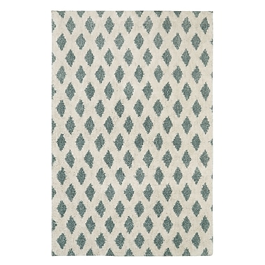 Mohawk Home Adona EverStrand PET 8'x10' Aqua Rug (086093489427)