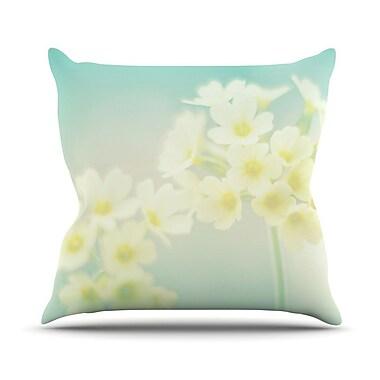 KESS InHouse Happy Spring Throw Pillow; 26'' H x 26'' W