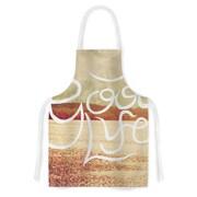 KESS InHouse Good Life Fabric Artistic Apron