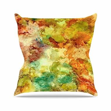 KESS InHouse Fall Bouqet Throw Pillow; 20'' H x 20'' W
