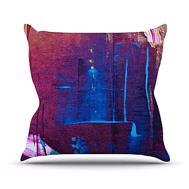 KESS InHouse Cityscape Abstracts Throw Pillow; 26'' H x 26'' W