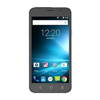 NUU Mobile - Téléphone intelligent X4 HD LTE, 5 po, noir, (X4 US BLK)