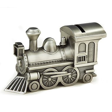 Elegance Pewter Plated Train Bank