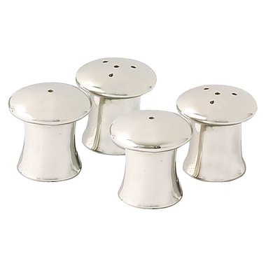 Elegance Mushroom Salt & Pepper Shakers, Set of 4