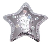 Elegance Silver-Plated Little Prince Tooth Box, Star Shape