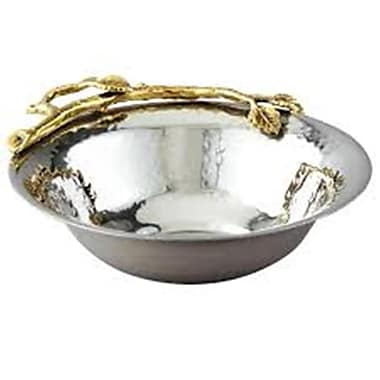 Elegance – Bol à noix avec feuilles d'or