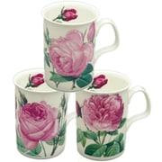 Roy Kirkham Lancaster Mug, Les Roses, Set of 6