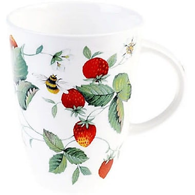 Roy Kirkham Louise Mug, Alpine Strawberry, Set of 6