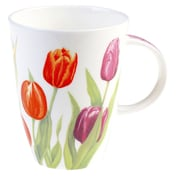 Roy Kirkham Louise Mug, Tulip Garden, Set of 6