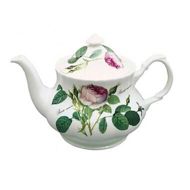 Roy Kirkham Teapot, Redoute Rose