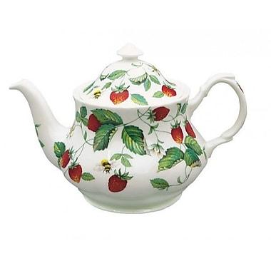 Roy Kirkham Teapot, Alpine Strawberry