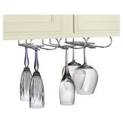 Spectrum Diversified Triple Hanging Wine Glass Rack