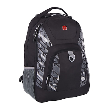 Swiss Gear Backpack Fits Most Tablets, Black, (SWA2412 009)