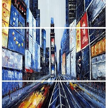 Designart – Giclée sur toile imprimée, New York, 28 x 36 po (PT2019-28-36-3V)