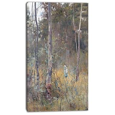 Designart Frederick McCubbin, Lost Canvas Art Print, 3 Panels, (PT4395-16-32)