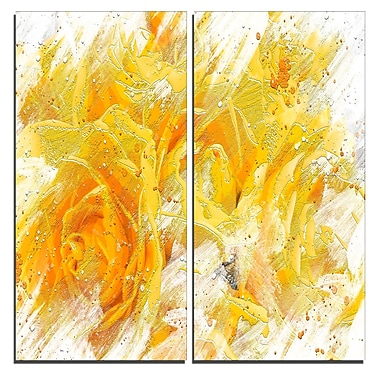 Designart Yellow Tulips Canvas Art Print, 40