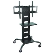 Luxor Mobile Flat Panel TV Stand & Mount, Black, (WPSMS51)