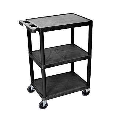Luxor 3-Shelf Utility Cart, 24