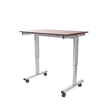 Luxor 48 Electric Stand Up Desk Walnut Stande 48 Ag Dw Staples