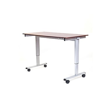 Luxor 60 Electric Stand Up Desk Walnut Stande 60 Ag Dw Staples