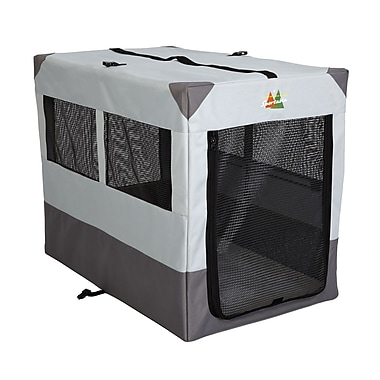 Midwest Homes For Pets Canine Camper Sportable Tent Pet Crate; 32'' H x 42'' W x 26'' D