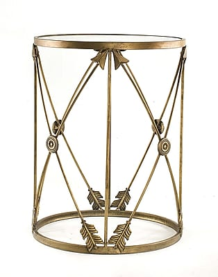 InnerSpace Luxury Products Barrel End Table