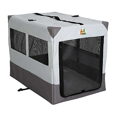 Midwest Homes For Pets Canine Camper Sportable Tent Pet Crate; 28'' H x 36'' W x 25.5'' D