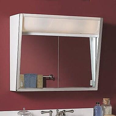 Jensen 28'' x 19.5'' Surface Mount Medicine Cabinet w/ Lighting