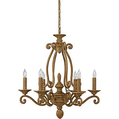 Forte Lighting 6-Light Candle-Style Chandelier